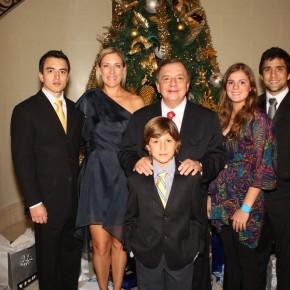 Familia Alvaro Noboa Navidad 2010