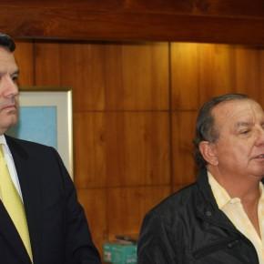 Lucho Noboa y Alvaro Noboa