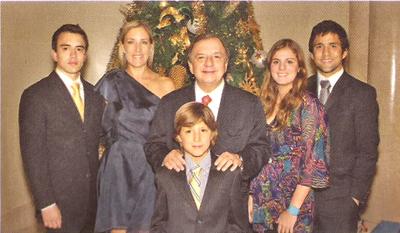 Familia de Alvaro Noboa