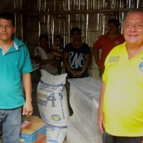 Álvaro Noboa Hace entrega de una Panificadora Industrial para fomentar la microempresa