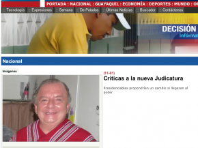 FUENTE: Diario Expreso - Crticas a la nueva Judicatura