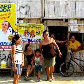 Los habitantes de la Península de Santa Elena Respalda a Álvaro Noboa
