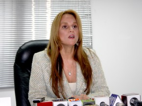 Rueda de Prensa de Sylka Sanchez