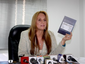 Sylka Sanchez, procuradora de Alvaro Noboa