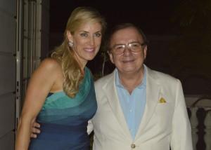 Alvaro Noboa junto a su esposa  Annabella de Noboa 199