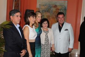 Jaime Arango, Ma Eugenia Gutierrez, Annabella Azin, Lucia Gallardo y Freddy Bravo_8