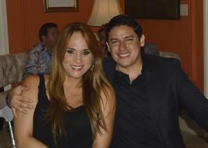 Sylka Sanchez de Cornejo junto a su esposo Gino Cornejo 195