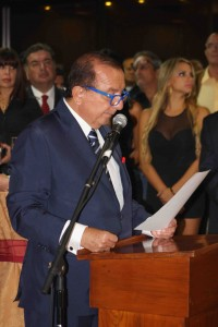 Aperture speech by the bussinessman Álvaro Noboa.