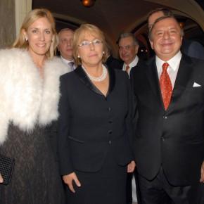 A Noboa y M Bachelet