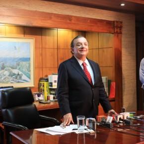 Press Conference Alvaro Noboa
