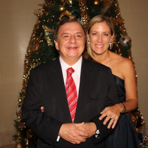 With my Wife Annabella Christmas 2010