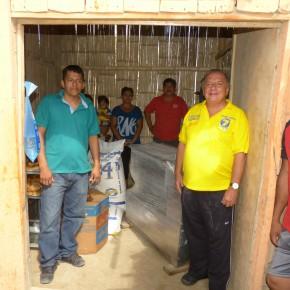 Álvaro Noboa Realiza Recorrido en la Península de Santa Elena entregando una Amasadora Industrial