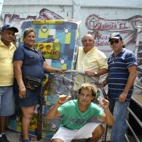 Alvaro Noboa Delivers Donations and Encourages Microenterprises