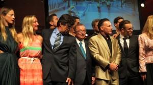 Alvaro Noboa and Anthony Shriver Kennedy