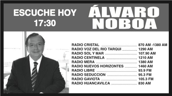 ESCUCHE_HOY_RADIO_CRISTAL_ALVARO_NOBOA